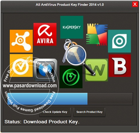 Download All AntiVirus Product Key Finder 2014 v1.1 Final