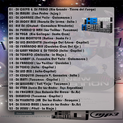 01   DJ CHIVA   DJ PABLO  Rio Grande   Tierra Del Fuego