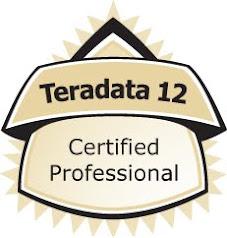 Teradata 12 certified professional