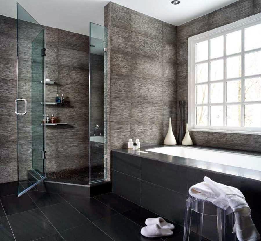 Small Black Bathroom Remodeling Design Ideas wallpaper