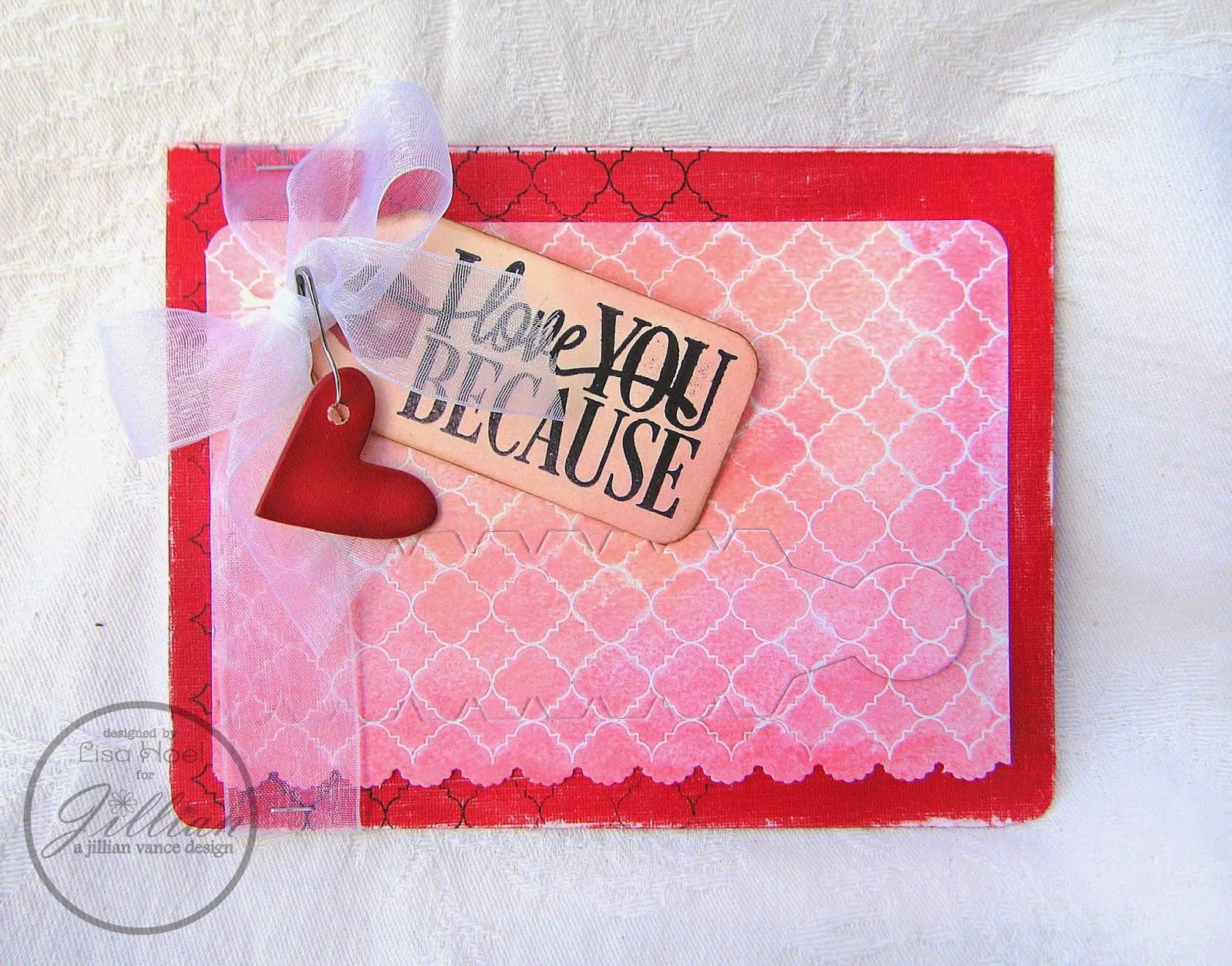 Lisa Hoel - AJVD Valentine's Day card
