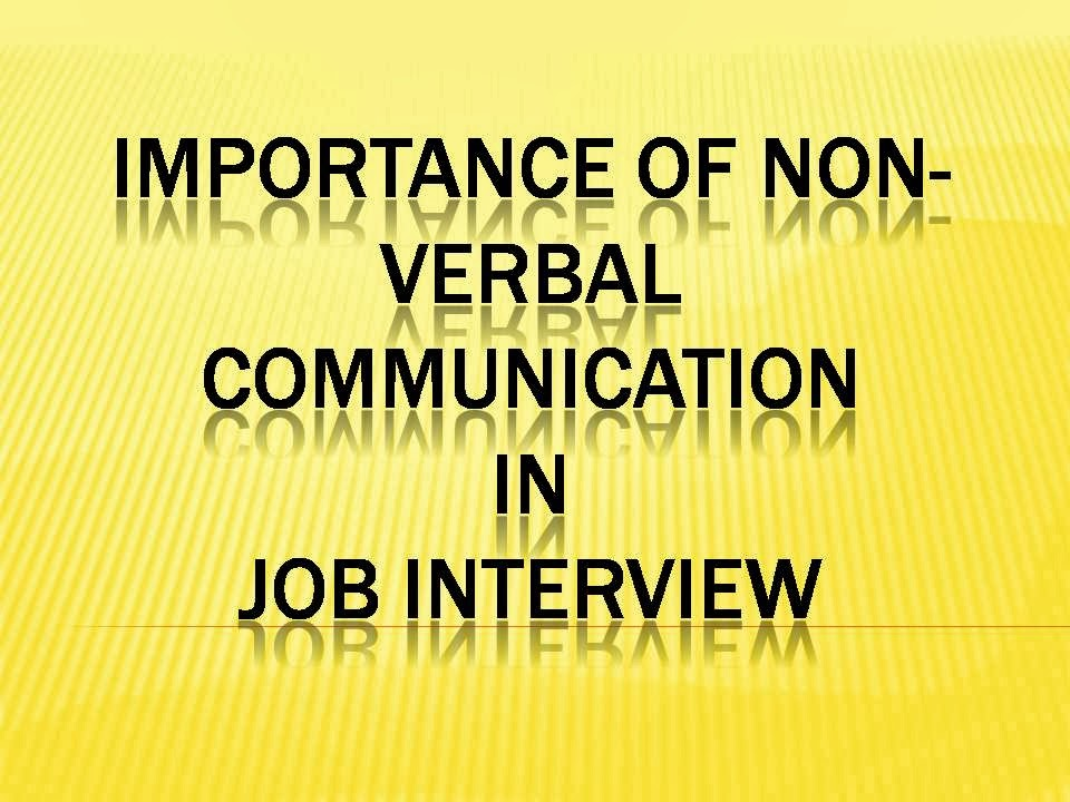 importance of verbal communication pdf