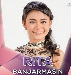 Biodata dan profil Rita D'Academy 2 indosiar asal Banjarmasin
