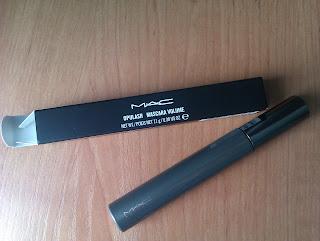 Recenzja maskara MAC Opulash + mój pędzel flat top od QVS