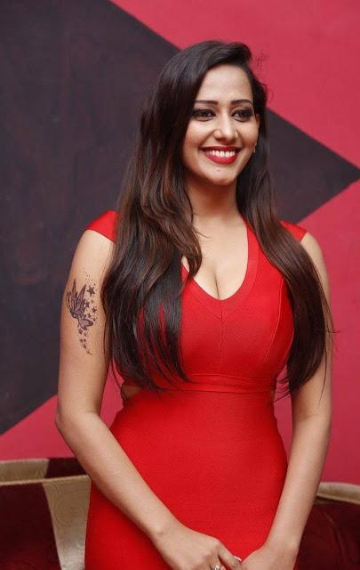 Sanjana Singh Latest Photos At Haveli Coffee Shop Opening
