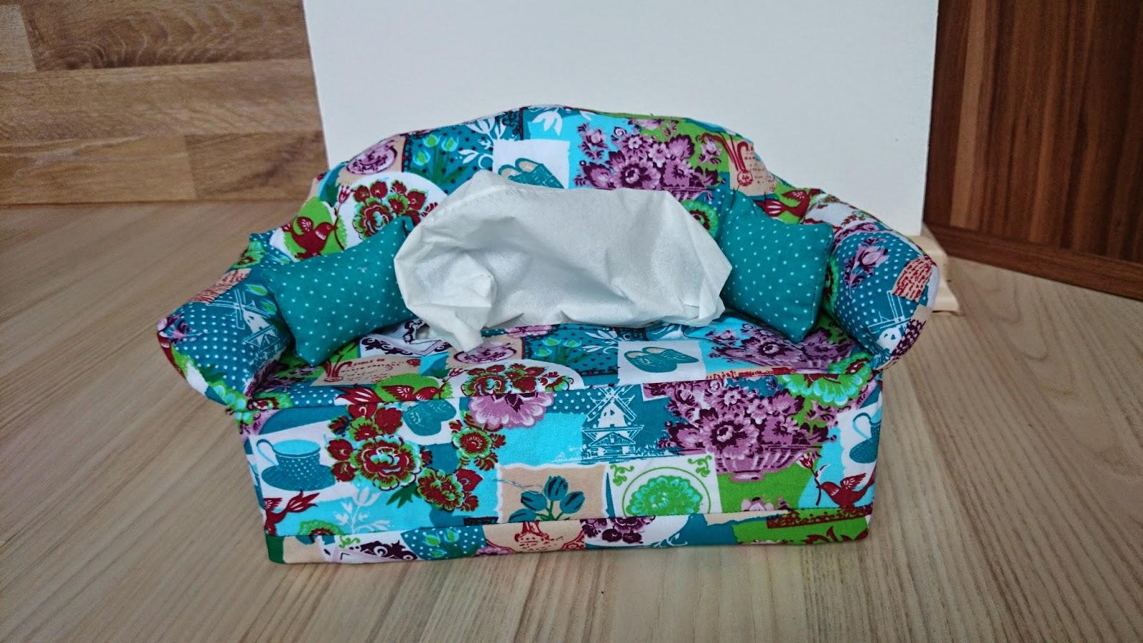 Taschentücher Sofa