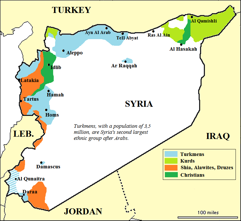 CDR Salamander Russia Vs Turkey This Is Where It Gets Stupid - Qamishli map