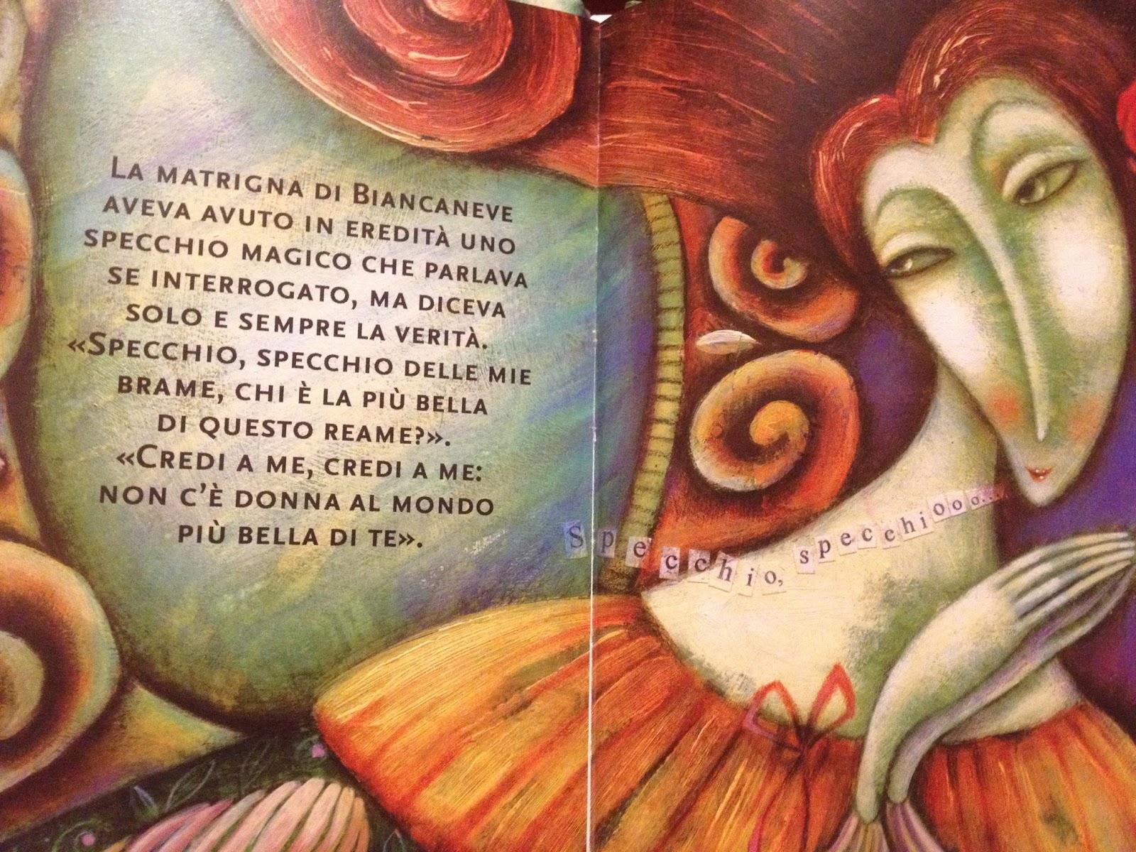 The magic kingdom of illustration biancaneve e i sette - Specchio di biancaneve ...