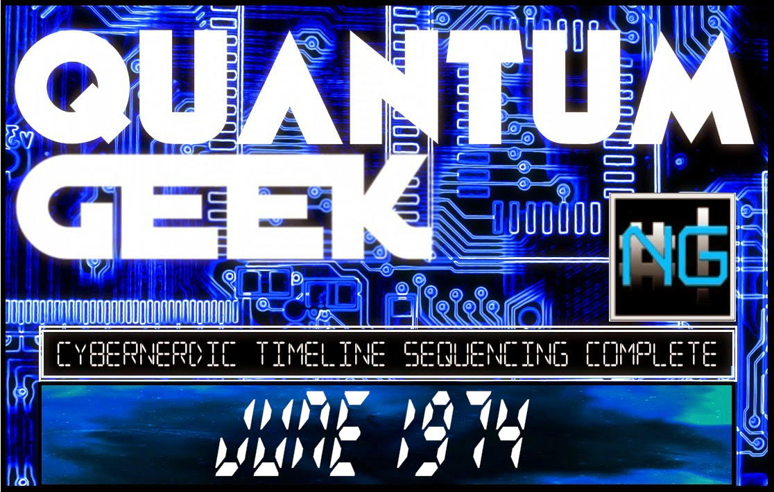 All New Quantum Geek Timeline Design Artwork