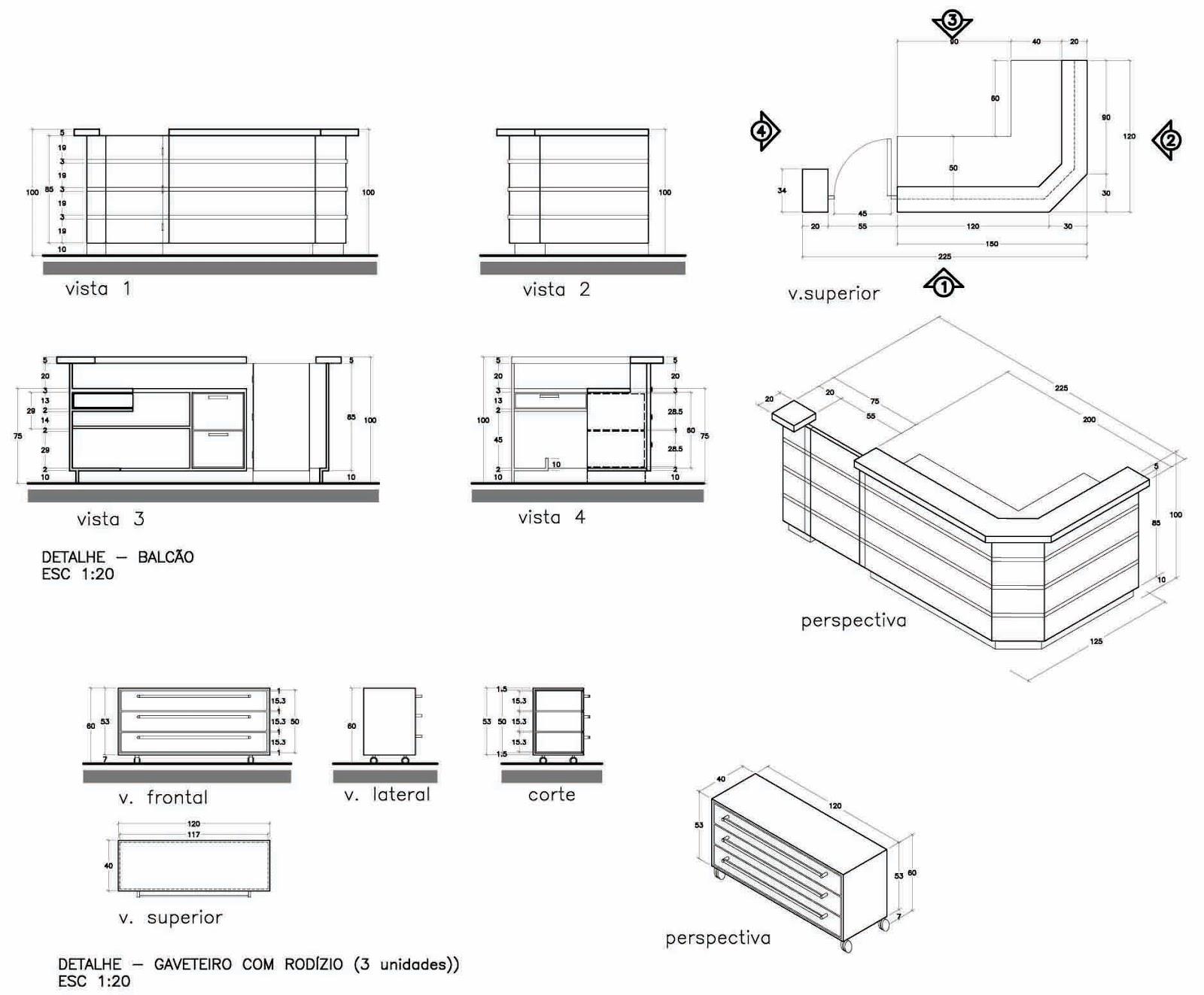 MARIANA PROJETISTA: Portifólio #12: Desenho de Mobiliário #676664 1600 1323