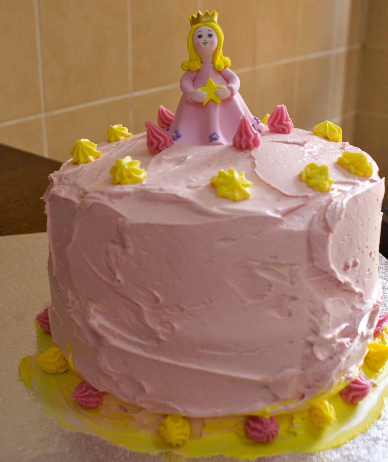 Lady Sadie's Emporium: Princess Birthday Cake
