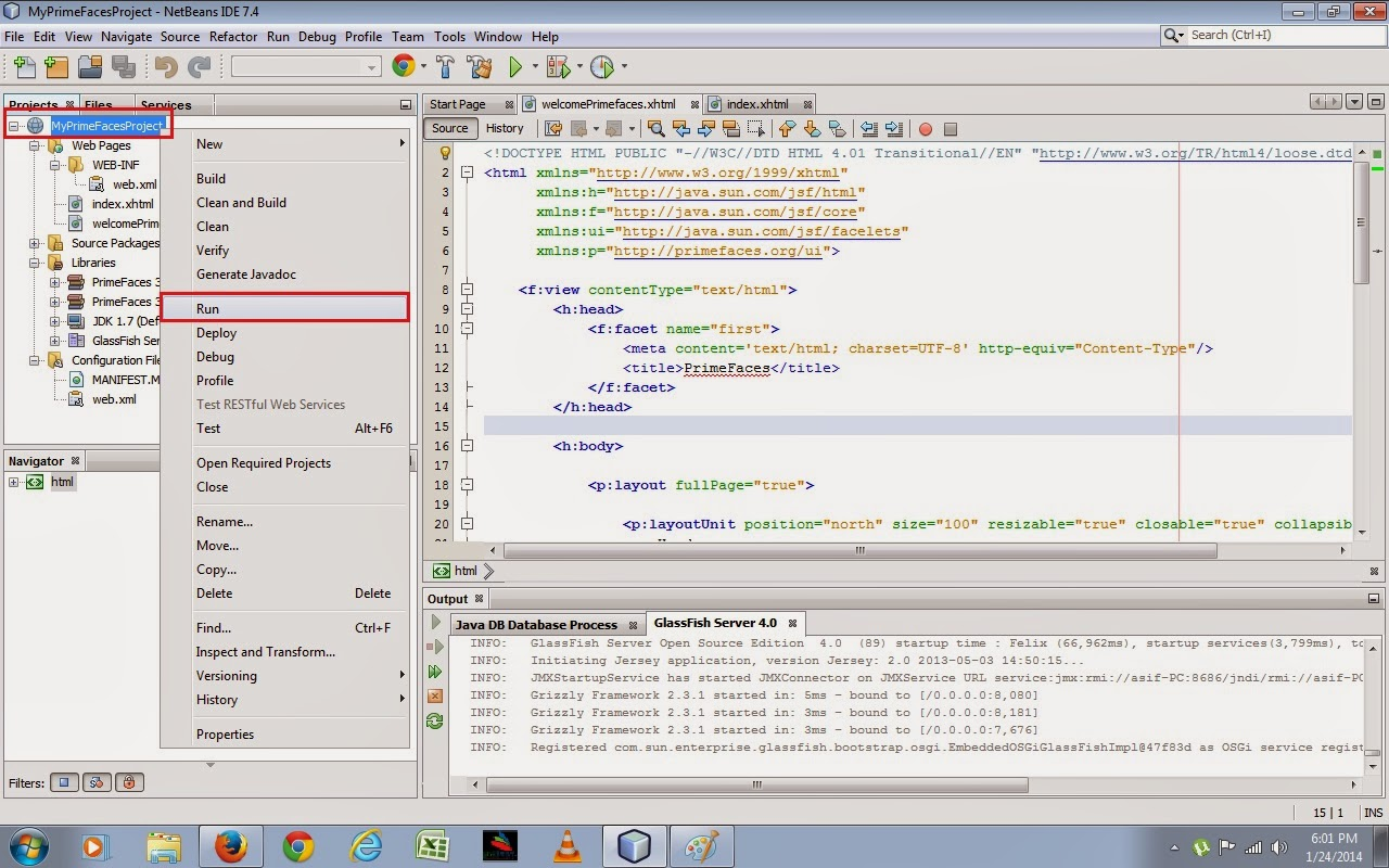 Java web application development with free source code