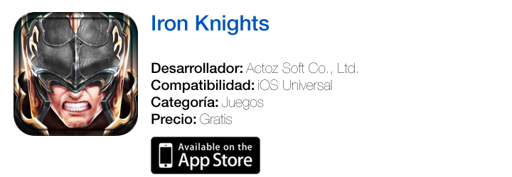https://itunes.apple.com/es/app/iron-knights/id862984425?mt=8