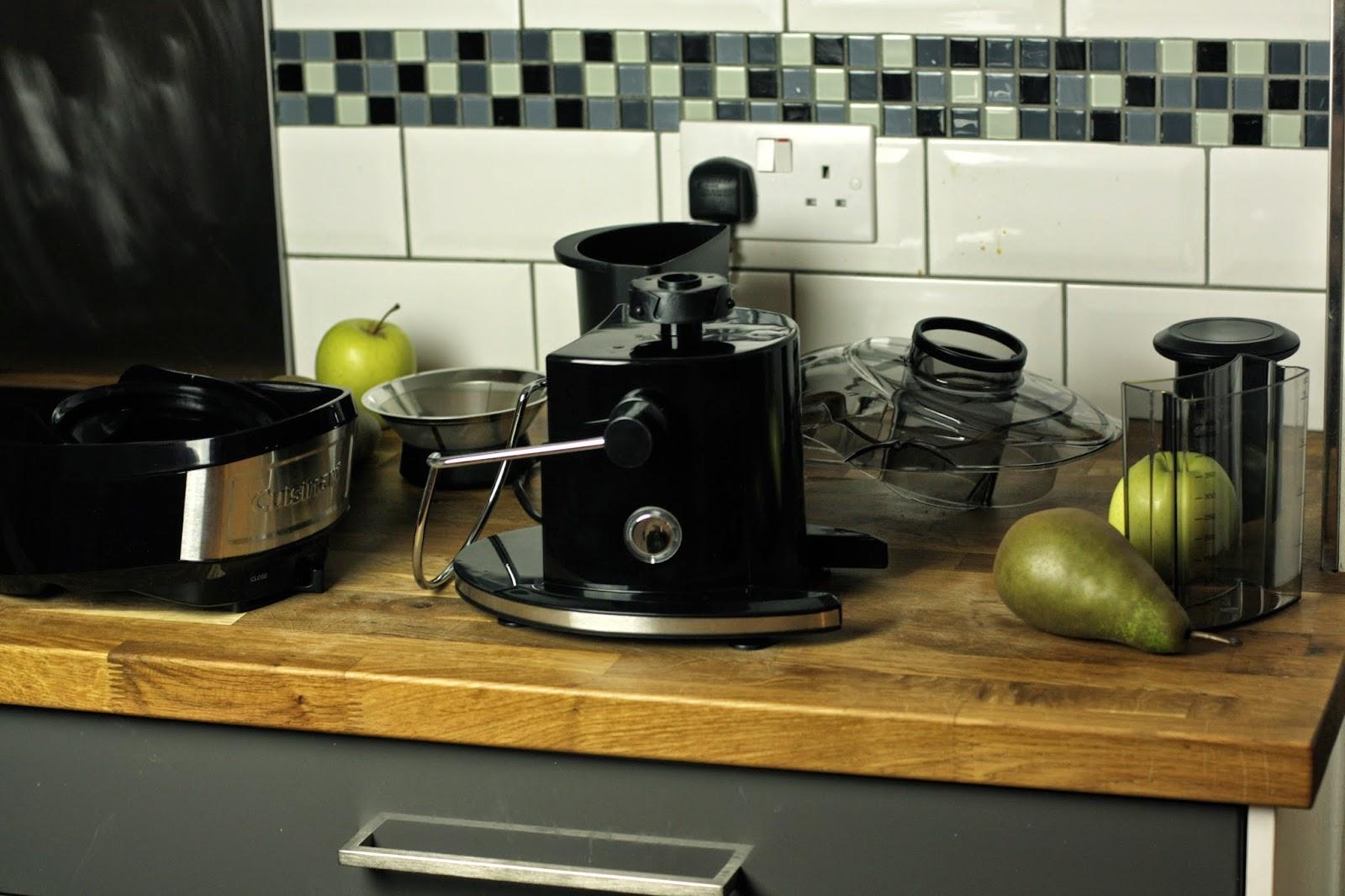 Cuisinart Compact Juice Maker's Parts