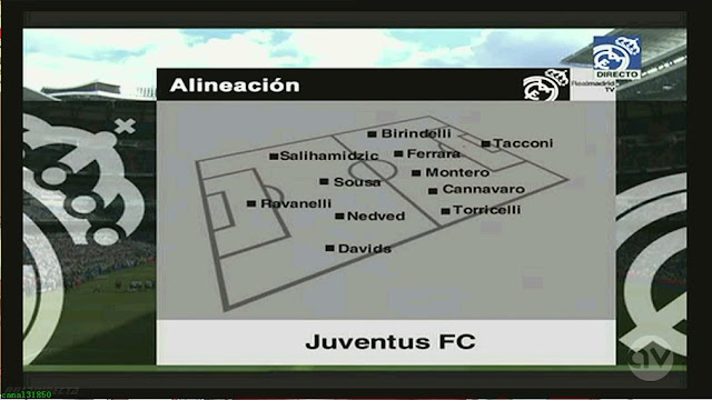 Real Madrid All Stars vs Juventus All Stars