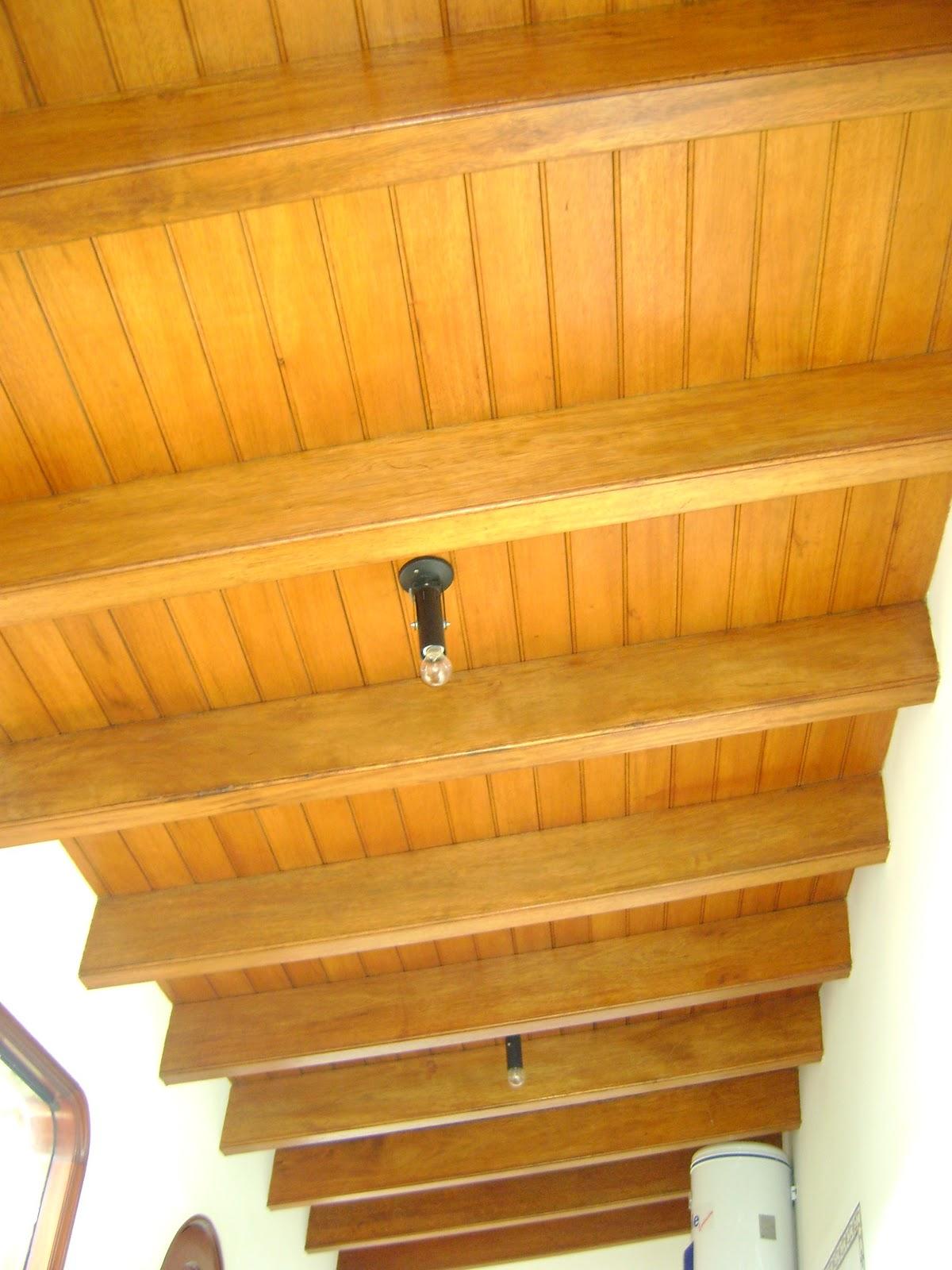 Techos sol y sombra y techo para interiores arte y - Madera para pared interior ...