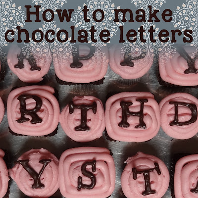 Jon Holli 39 S Diy How To Make Chocolate Letters And Other