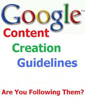 Google Panda Content Guidelines