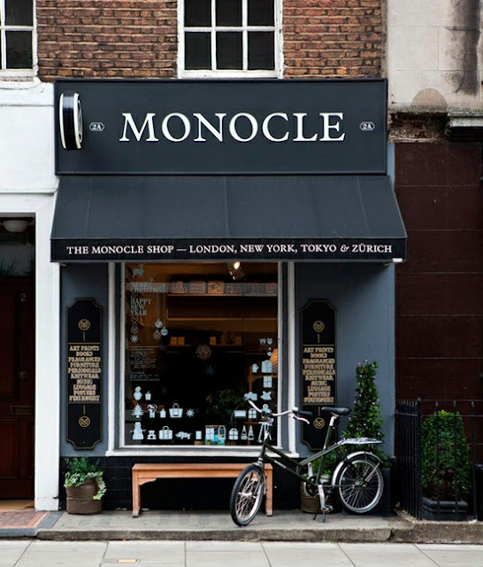 monocle storefront