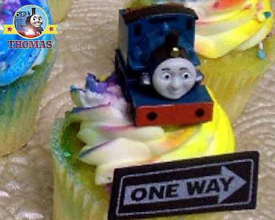 Cupcakes Thomas the tank cake ideas decorating kit Misty Island rescue Ferdinand railway characters