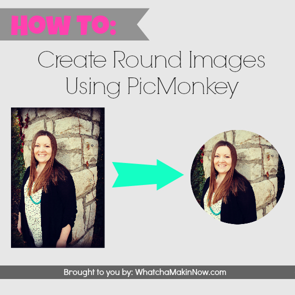 How to Create Round Images in PicMonkey - great for recipe round ups, fun profile pictures, and perfect for collages!