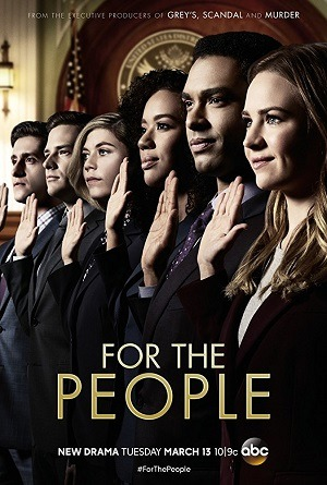 Série For the People - 1ª Temporada 2018 Torrent