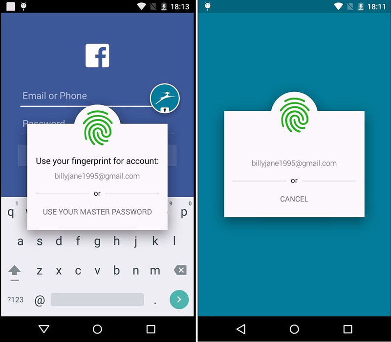 Android M Fingerprint Support