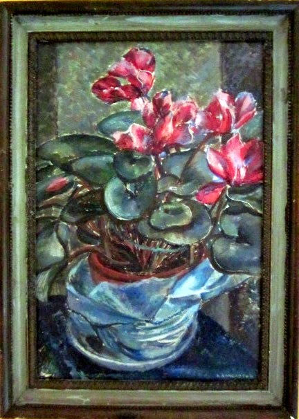 Lilian Lancaster artist, 1930 art, art history,