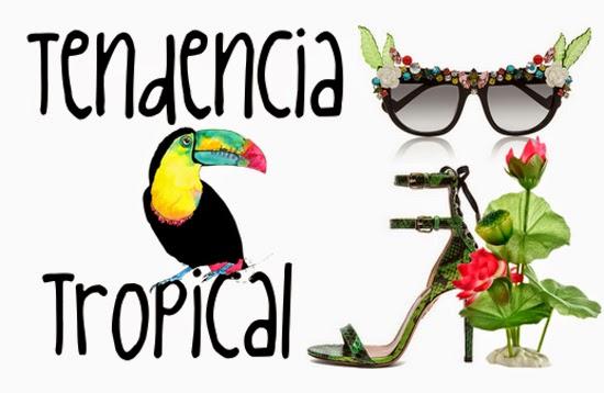 Tendencia Tropical, la tendencia mas divertida para este verano.