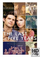 The Last 5 Years (2014) BRrip 720p Subtitulados