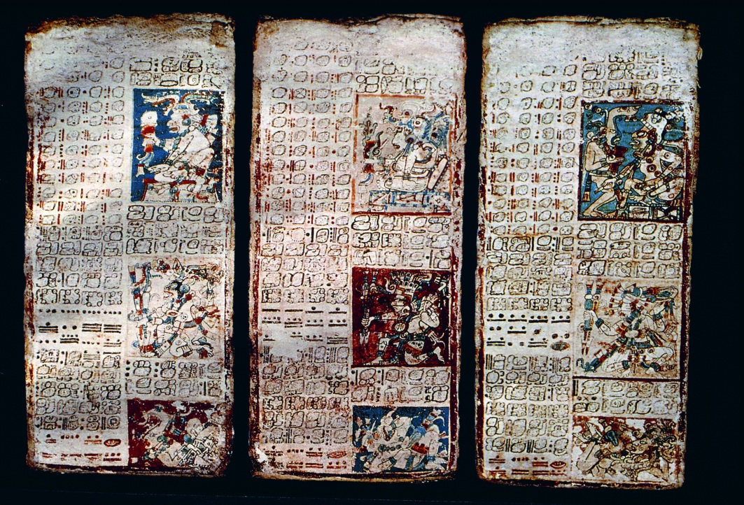 El códice Maya de Dresden ~ Misterios en la Web
