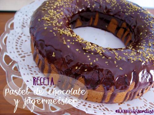 pastel de chocolate y jagermeister cake