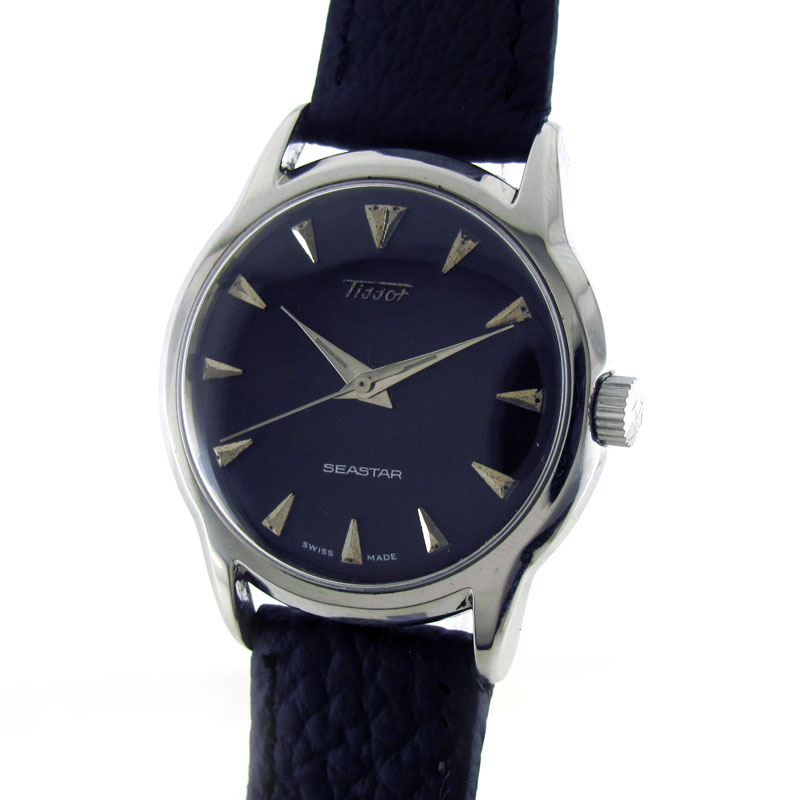 Antique watch and timepiece collection by wrist men watches tissot sea star manual winding for Celebrity tissot watches