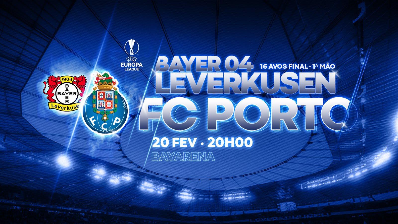 20 de fevereiro, 20h: Leverkusen