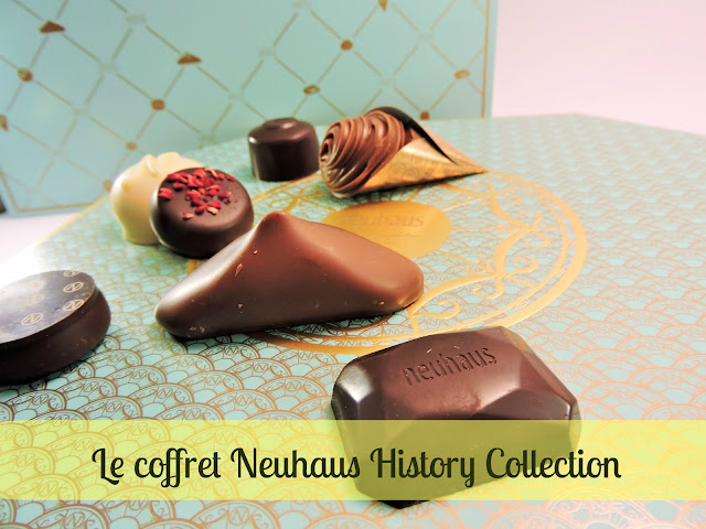 coffret de pralines The Neuhaus History Collection