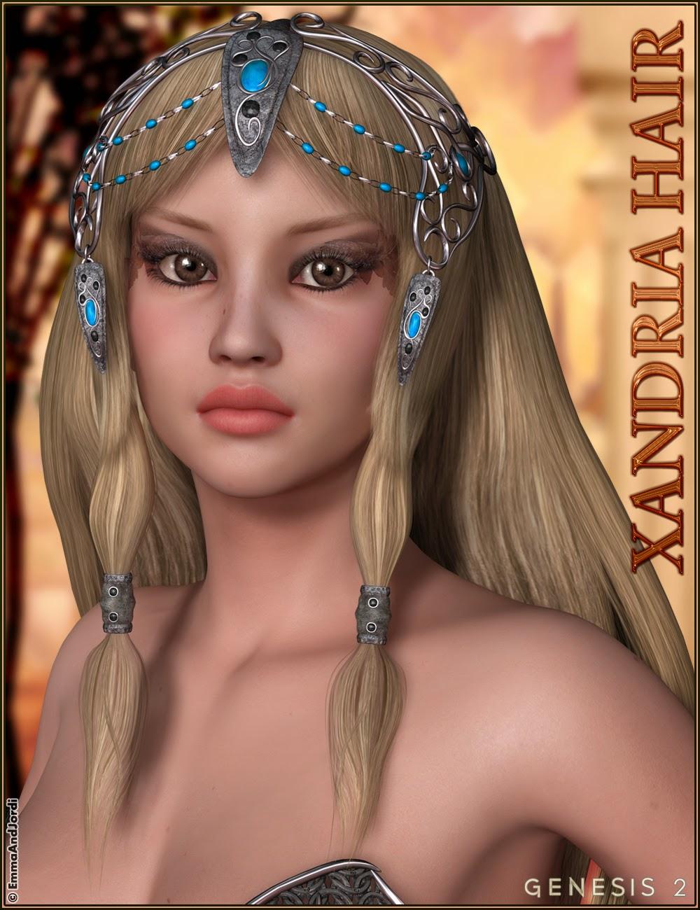 http://www.daz3d.com/xandria-hair