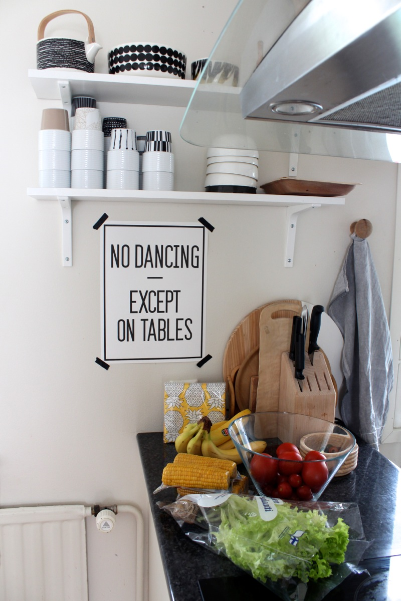 No dancing exempt on tables