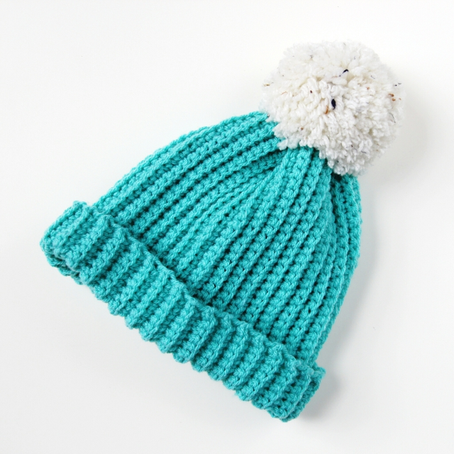 Free Crochet Patterns Using Pom Pom Yarn : EASY DIY CROCHET HATS - 2 WAYS. Gathering Beauty