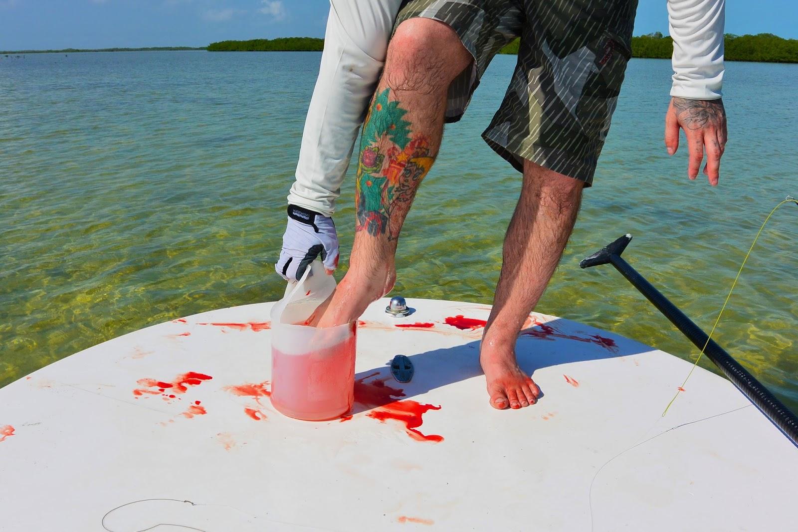 Central alberta fly tying club cuba is a salt water delight for Fishing in cuba