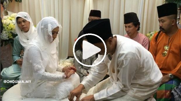 Video Majlis Pernikahan Nabila Huda dengan seorang Pengurus Restoran
