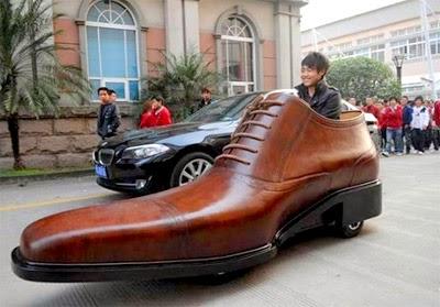 Carro  zapato de China