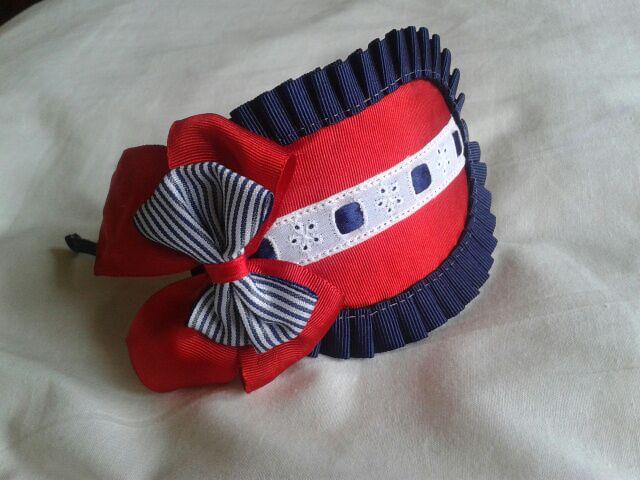 diadema ideal para cualquier conjunto marinero