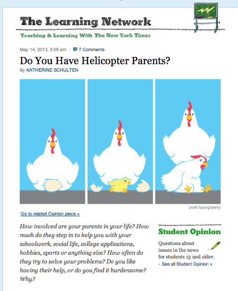 the problem with helicopter parents essay