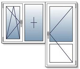 балконная дверь и балконный блок