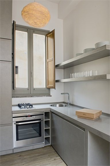 D nde colocar el horno kansei cocinas servicio for Colocar encimera