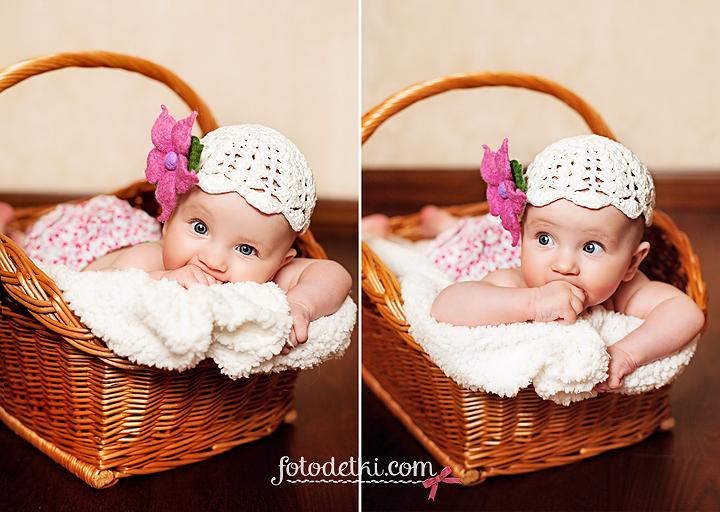 Фотосессия ребенок 3 месяца