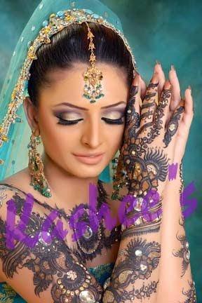 Mehndi Designs 2014-2015 For Wedding | Bridal Mehndi U0026 Makeup Designs 2014 By Kasheeu0026#39;s Saloon ...