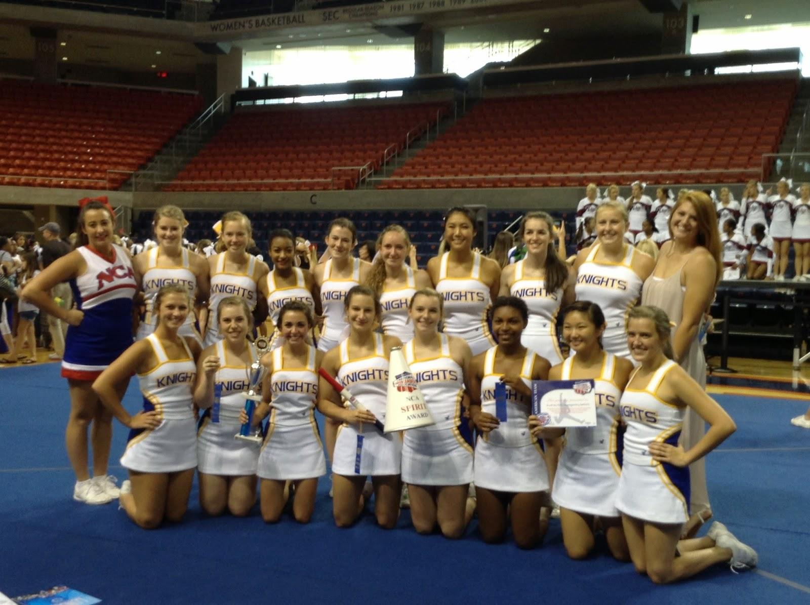 Montgomery Catholic Varsity Cheerleaders Named All-American at NCA Camp 1