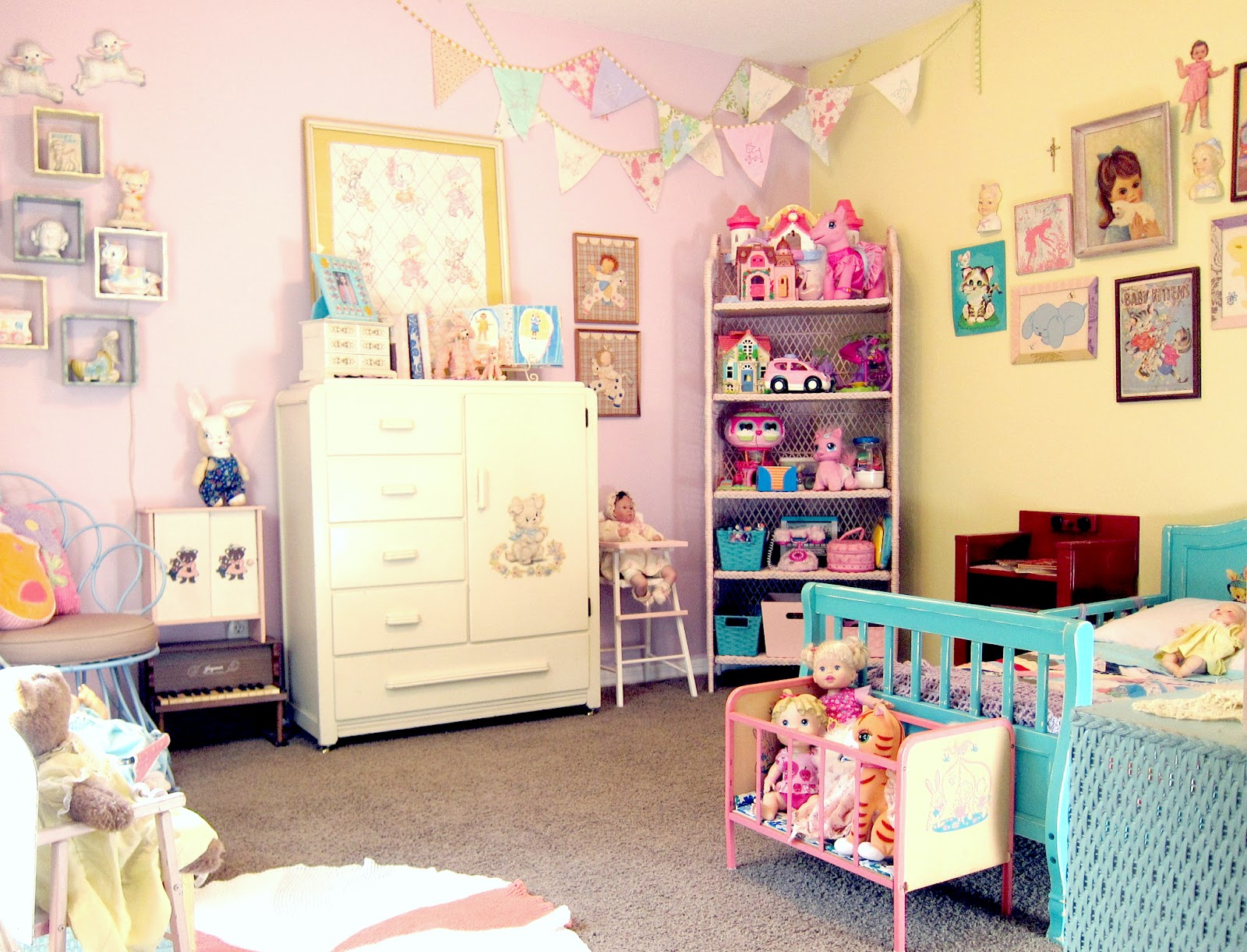 Corey Moortgat Collage Artist Averys Big Girl Room