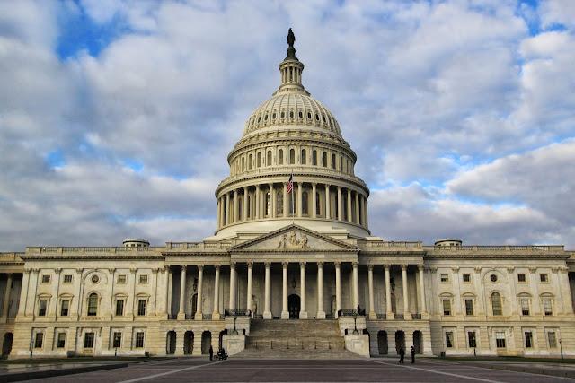 United States Capitol in Washington DC, USA